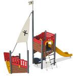 estrutura lúdica para parque infantil / em HPL / modular