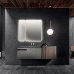 gabinete de banheiro de parede