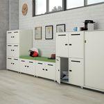 armário de vestiário em aço / para escritório