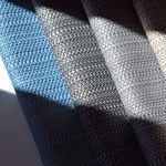 tecido para estofados / às riscas / para ambiente externo