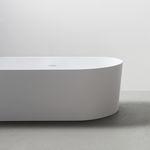 banheira freestanding / oval / em acrílico