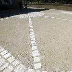 revestimento de piso em concreto / para estrada / residencial / para espaço público