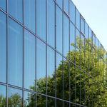 painel de vidro flutuante / de controle solar / para fachada / para janela