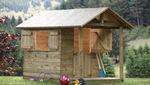 casa de brincar para ambiente externo