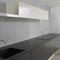 cozinha contemporânea / em compósito / modular / lacada