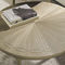 mesa de centro clássica / com folheado de madeira / com pés metálicos / com pés em madeira laqueada