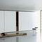mesa de centro contemporânea / em madeira / retangular / quadrada