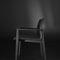 cadeira contemporânea / estofada / com braços / ergonômica