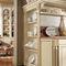 cozinha clássica / em madeira lacada / em mármore / em L