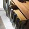 cômoda contemporânea / em madeira lacada / sob medida / multicores
