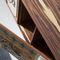 rack de TV contemporâneo / sob medida / em madeira