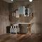 secretária em madeira / novo Barroco / modular / sob medida