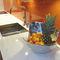painel laminado para cozinha / contra salpicos / branco