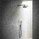 conjunto de chuveiro de parede / contemporâneo / com chuveiro de mão