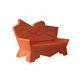 sofá de design original / para ambiente externo / em plástico / de Alessandro Mendini