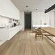 placas de revestimento para ambiente interno / de piso / em porcelanato arenito / 25x150 cm