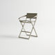 cadeira alta contemporânea / com braços / em Textilene® / em alumínio