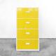 armário de arquivo baixo / em aço / modular / contemporâneo