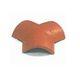 telha de acabamento lateral / cerâmica / de 3 vias