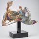 escultura em vidro de Murano
