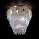 plafon clássico / em vidro de Murano / de LED / para lâmpada incandescente