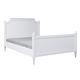 cama de casal / de estilo / com cabeceira / em madeira