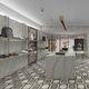 placas de revestimento para ambiente interno / de parede / de piso / em porcelanato arenito