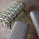tecido para estofados / com padrão geométrico / em algodão / de viscose