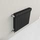radiador a água quente / em alumínio / contemporâneo / retangular