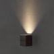 arandela contemporânea / para ambiente externo / em alumínio / de LED