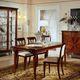 mesa de jantar de estilo / em nogueira / em cerejeira / retangular