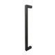 puxador para porta de vidro / para porta de correr / para portão / metálico