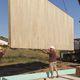 painel sanduíche para telhado / para piso / para divisória / 2 faces em contraplacado
