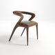 cadeira contemporânea / em carvalho / em nogueira / em madeira de freixo