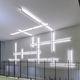 perfil com iluminação de sobrepor / de LED / modular / dimerizável