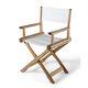 cadeira contemporânea / de realizador / em tecido / em freixo