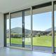 porta de vidro elevável de correr / em alumínio / com vidro duplo / de isolamento térmico