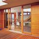janela oscilo-deslizante / em alumínio / com vidro duplo / de isolamento térmico